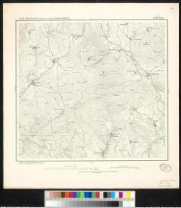 Meßtischblatt 3369 : Platte, 1876