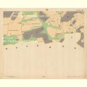 Kodetschlag - c2836-1-011 - Kaiserpflichtexemplar der Landkarten des stabilen Katasters