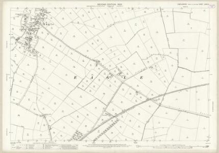 Lincolnshire LXXVII.3 (includes: Doddington and Whisby; Eagle and Swinethorpe; Thorpe on the Hill) - 25 Inch Map