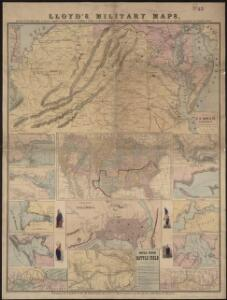 Lloyd's military maps: showing the principal places of interest
