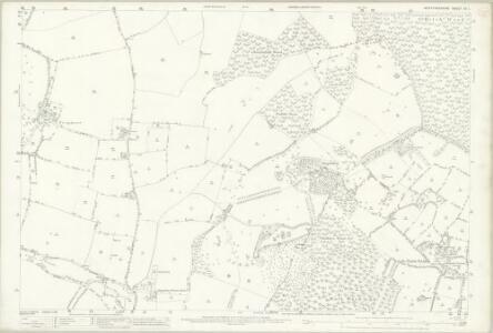 Hertfordshire XX.1 (includes: Kings Walden; Langley; Preston; St Pauls Walden) - 25 Inch Map