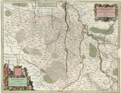Marchionatus Brandenburgici Pars quae Marchia Vetus Vulgo Altemarck dicitur