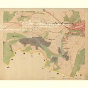 Beneschau - c0113-2-004 - Kaiserpflichtexemplar der Landkarten des stabilen Katasters