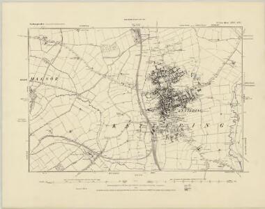 Northamptonshire XIV.NW - OS Six-Inch Map