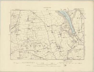 Staffordshire V.SW - OS Six-Inch Map