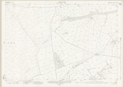 Derbyshire XVII.15 (includes: Barlow; Brampton; Curbar) - 25 Inch Map