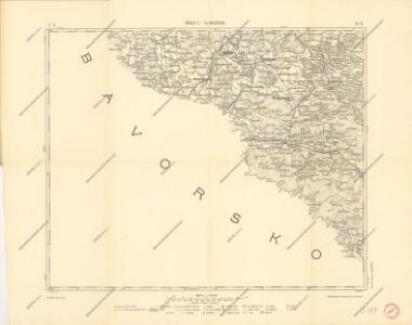 Podrobná mapa království Českého: Brod n. L.-Sv. Kateřina
