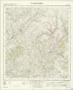 Llandovery - OS One-Inch Map
