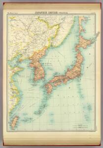 Japanese Empire - political.