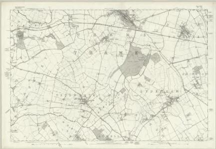 Buckinghamshire XXXIII - OS Six-Inch Map