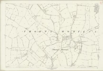 Suffolk LXIV.2 (includes: Brettenham; Cockfield; Thorpe Morieux) - 25 Inch Map