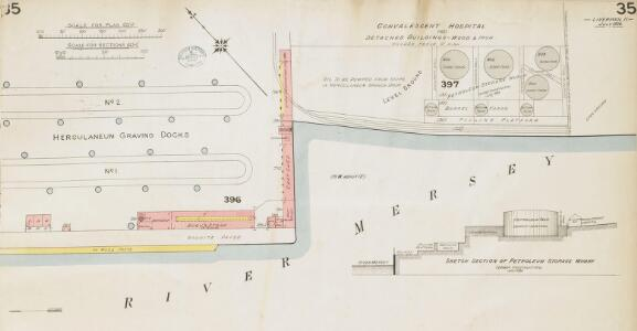Insurance Plan of the City of Liverpool Vol. II: sheet 35-1