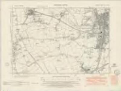 Durham XLII.NW - OS Six-Inch Map