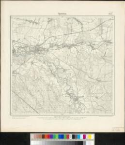 Meßtischblatt 2554 : Sprottau, 1900