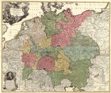 Tabula Novissima Totius Germaniae
