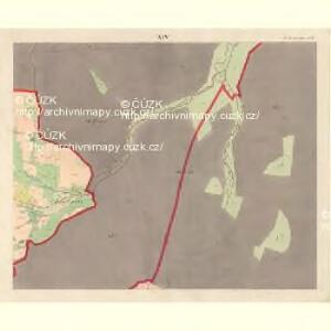 Alt Hrosenkau (Stary Hrasenkow) - m2868-1-013 - Kaiserpflichtexemplar der Landkarten des stabilen Katasters