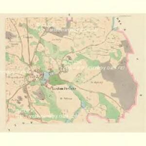 Laschan Desfours (Lažan) - c1079-1-002 - Kaiserpflichtexemplar der Landkarten des stabilen Katasters