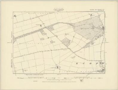 Lincolnshire LXXXVII.SE - OS Six-Inch Map
