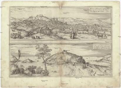 Bvrgos celebris et antiqua Hispaniae ciuitas, quae Auca, Brauum, Masburgi, Liconitiurgis, nomina habet