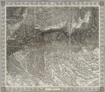 Sheet XV: Karte Des Oesterreichischen Kaiserstaates.