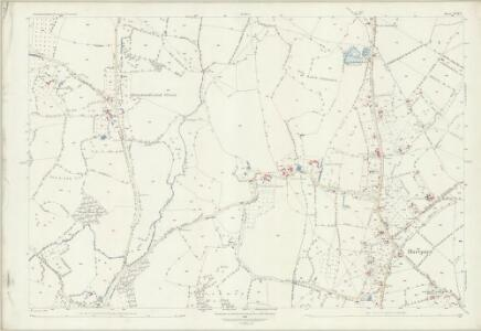 Gloucestershire XVIII.13 (includes: Ashleworth; Corse; Hartpury; Maisemore) - 25 Inch Map