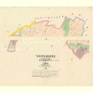 Wistersitz - c0719-1-001 - Kaiserpflichtexemplar der Landkarten des stabilen Katasters
