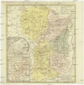 Teritorii episcopatvs Osnabrvgensis tabula geographica
