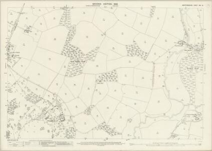 Hertfordshire XXII.13 (includes: Standon; Thundridge) - 25 Inch Map