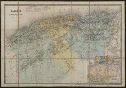 Algérie d'après les cartes de l'Etat Major et les documents du Ministère de la Guerre