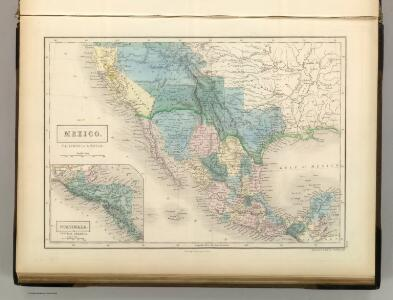 Mexico, California & Texas.