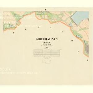 Kirchradaun - c3384-1-003 - Kaiserpflichtexemplar der Landkarten des stabilen Katasters