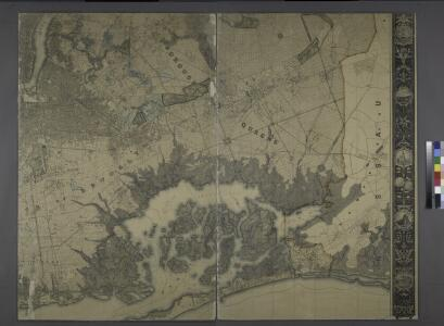 General map of the city of New York, consisting of boroughs of Manhattan, Brooklyn, Bronx, Queens and Richmond : consolidated into one municipality by act of the legislature of the state of New York (Chapter 378 of the laws of 1897) : showing in addition