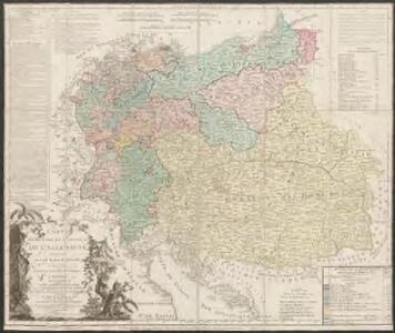 Carte élémentaire et statistique de l'Allemagne