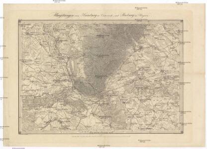 Umgebungen von Hainburg in Oesterreich, und Presburg in Ungarn