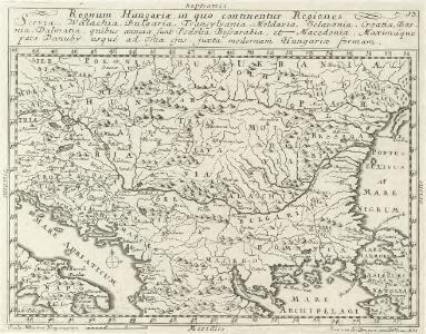 Regnum Hungariae, in quo continentur Regiones :