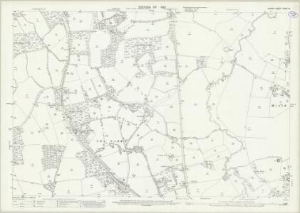 Surrey XXXIV.15 (includes: Charlwood; Horley) - 25 Inch Map