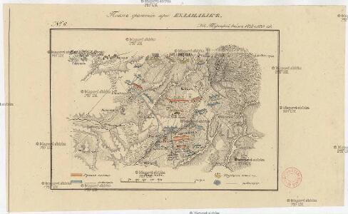 Plan sraženija pri Bulanlykě