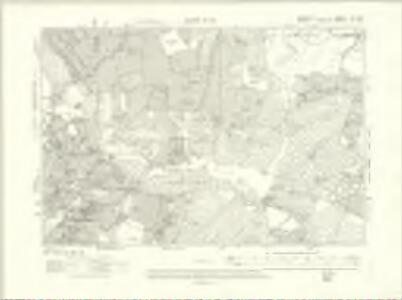 Berkshire XL.SW - OS Six-Inch Map