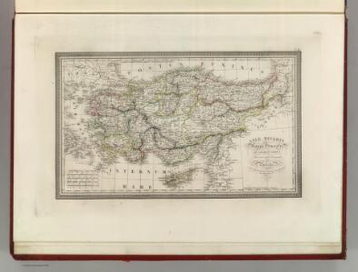 Asiae Minoris Mappa Generalis ad Caesarum Tempus.