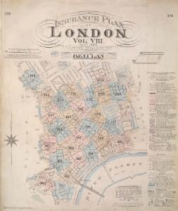 Insurance Plan of London Vol. VIII: Key Plan