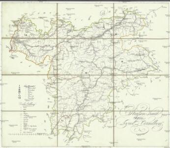 Strassen-Karte von Tyrol und Vorarlberg
