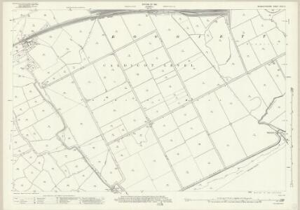 Monmouthshire XXXV.2 (includes: Llanvihangel Near Roggiett; Rogiet; Undy) - 25 Inch Map