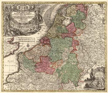 XVII. Provinciae Belgii sive Germaniae Inferioris