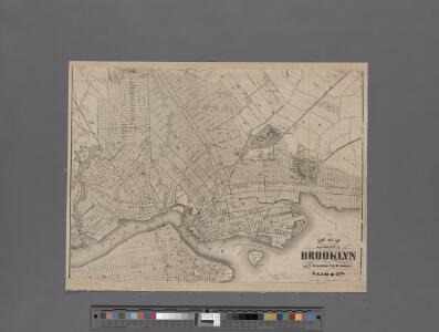 Map of the city of Brooklyn