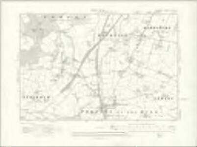 Cheshire XXV.NW - OS Six-Inch Map