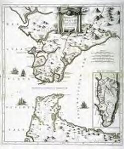 Nouvelle carte du détroit de Gibraltar et de l'isle de Cadix