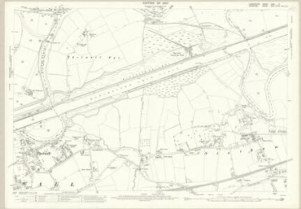 Lancashire CXVI.3 (includes: Grappenhall; Lymm; Rixton With Glazebrook; Woolston) - 25 Inch Map