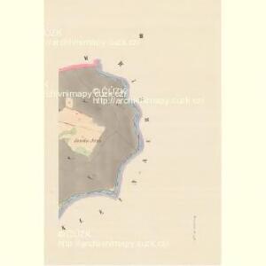 Woschetnitz (Wossetnice) - c5522-1-003 - Kaiserpflichtexemplar der Landkarten des stabilen Katasters