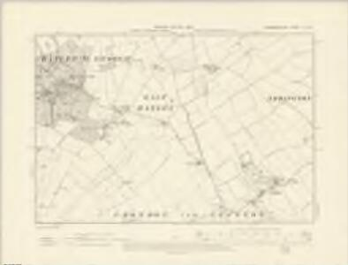 Cambridgeshire LII.NE - OS Six-Inch Map