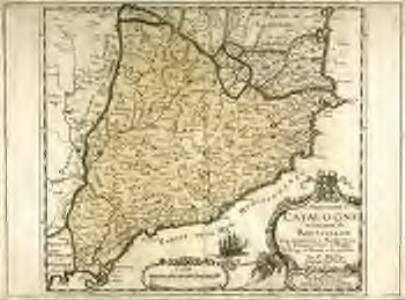 La principauté de Catalogne et le comté de Roussillon